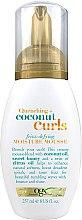 Парфюмерия и Козметика Овлажняващ мус за къдрава коса - OGX Organix Quenching + Coconut Curls Frizz-Defying Moisture Mousse