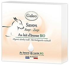 Парфюмерия и Козметика Сапун с магарешко мляко - Galeo Soap Organic Donkey Milk