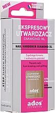 Парфюмерия и Козметика Експресен втвърдител за нокти - Ados Nail Hardener Diamond XL