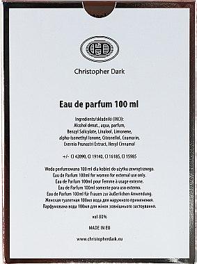 Christopher Dark Via La Bella - Парфюмна вода  — снимка N6