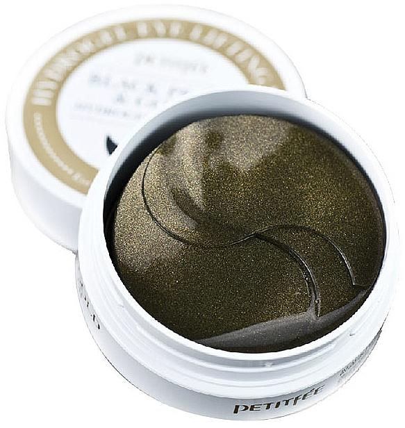 Хидрогел пачове за очи със злато и черна перла - Petitfee & Koelf Black Pearl&Gold Hydrogel Eye Patch