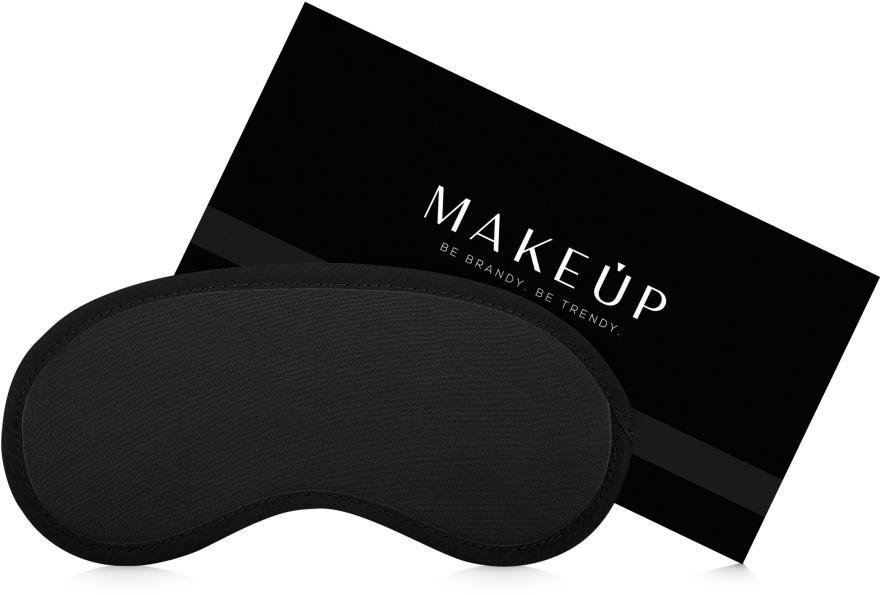 """Маска за сън, черна """"Classic"""" - MakeUp"""