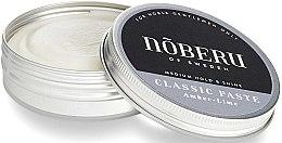 Парфюми, Парфюмерия, козметика Моделираща паста за коса - Noberu of Sweden Classic Paste Amber Lime