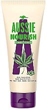 Парфюмерия и Козметика Изглаждащ балсам за коса, за лесно разресване - Aussie Hemp Nourish Conditioner