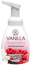 Парфюмерия и Козметика Пенещ се сапун за ръце с ванилия и малина - Australian Gold Foaming Hand Soap Vanilla Raspberry