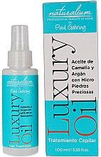 Парфюми, Парфюмерия, козметика Подхранваща грижа за коса, без отмиване - Naturalium Luxury Oil