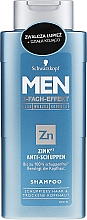 Парфюмерия и Козметика Шампоан против пърхот - Schwarzkopf Men ZinkPT Anti-Schuppen Shampoo