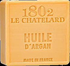 """Парфюмерия и Козметика Натурален сапун """"Арган"""" без палмово масло - Le Chatelard 1802 Soap Huile Argan"""