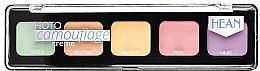 Парфюми, Парфюмерия, козметика Палитра с кремообразни коректори - Hean Photo Camouflage Cream Concealer Palette
