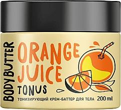 Парфюмерия и Козметика Тонизиращо масло за тяло с портокал - MonoLove Bio Orange Juice Body Butter
