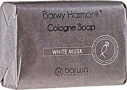 Парфюмерия и Козметика Сапун с екстракт от бял мускус - Barwa Harmony White Musk Soap