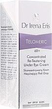 Парфюмерия и Козметика Концентриран лифтинг-крем за околоочния контур - Dr Irena Eris Telomeric Concentrated Re-Tautening Eye Cream SPF20