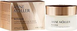 Парфюмерия и Козметика Нощен крем за лице - Anne Moller Rosage Night Oil In Cream