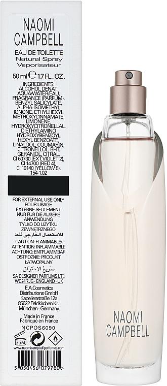 Naomi Campbell Naomi Campbell - Тоалетна вода (тестер без капачка)  — снимка N2
