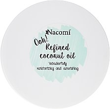 Рафинирано кокосово масло - Nacomi Coconut Oil 100% Natural Refined — снимка N2