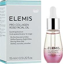Парфюмерия и Козметика Масло за лице с роза - Elemis Pro-Collagen Rose Facial Oil