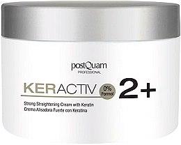 Парфюмерия и Козметика Крем за коса с кератин - PostQuam Keractiv Strong Straightening Cream With Keratin