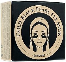 Парфюмерия и Козметика Хидрогел маска с пудра от черни перли за околоочен контур - Shangpree Gold Hydrogel Eye Mask