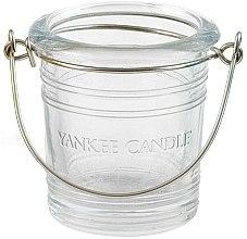 Парфюмерия и Козметика Чаша за свещ - Yankee Candle Bucket Holder Clear