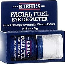 Парфюми, Парфюмерия, козметика Околоочен гел-стик против торбички и тъмни кръгове за мъже - Kiehl`s Facial Fuel Eye De-Puffer