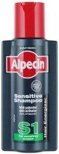 Парфюми, Парфюмерия, козметика Шампоан за чувствителен скалп - Alpecin S1 Sensitive Shampoo
