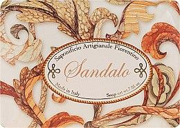 """Парфюмерия и Козметика Тоалетен сапун """"Сандалово дърво"""" - Saponificio Artigianale Sandalwood"""
