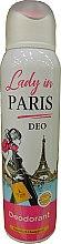 Парфюми, Парфюмерия, козметика Дезодорант спрей - Lady In Paris Deodorant