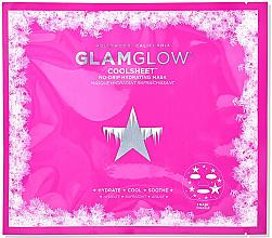 Парфюмерия и Козметика Маска за лице на хидрогелна основа - Glamglow Coolsheet No-Drip Hydrating Mask