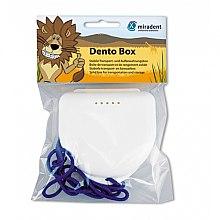 Парфюми, Парфюмерия, козметика Кутия за съхранение на ортодонтни консумативи - Miradent Dento Box White