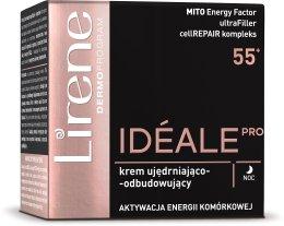 Парфюми, Парфюмерия, козметика Успокояващ нощен крем - Lirene Ideale Pro 55+ Night Cream