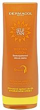 Парфюмерия и Козметика Мляко автобронзант за тяло - Dermacol Sun Self Tan Lotion