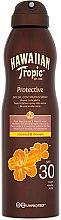 Парфюми, Парфюмерия, козметика Сухо масло за тен - Hawaiian Tropic Protective Dry Oil Spray SPF 30