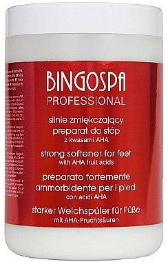 Дълбоко омекотяващ ексфолиант за крака с 50% AHA - BingoSpa Strong Exfoliant for Feet with 50% AHA