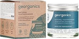 Парфюмерия и Козметика Натурален прах за зъби - Georganics English Peppermint Natural Toothpowder