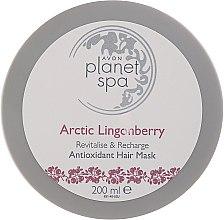Парфюми, Парфюмерия, козметика Маска за коса с червена ботовинка - Avon Planet Spa Arctic Lingonberry Hair Mask