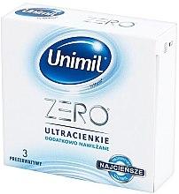 Парфюми, Парфюмерия, козметика Презервативи, 3 бр. - Unimil Zero