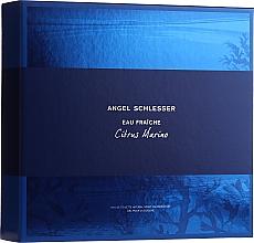 Парфюмерия и Козметика Angel Schlesser Eau Fraiche Citrus Marino - Комплект (тоал. вода/100ml+душ гел/150ml)