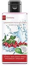Парфюмерия и Козметика Мицеллярная жидкость с клюквой - GoCranberry