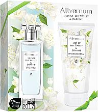 Парфюмерия и Козметика Комплект (парф. вода/50ml + лосион за тяло/200ml) - Allvernum Lily Of The Valley & Jasmine