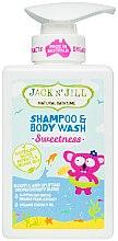 Парфюми, Парфюмерия, козметика Детски душ гел и шампоан 2в1 - Jack N' Jill Sweetness Shampoo & Body Wash