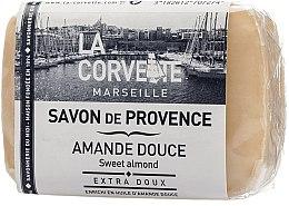 "Парфюмерия и Козметика Провансалски сапун ""Сладък бадем"" - La Corvette Provence Sweet Almond"