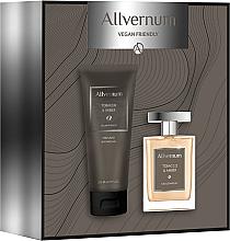 Парфюмерия и Козметика Allvernum Tobacco & Amber - Комплект (парф.вода/100ml + душ гел/200ml)