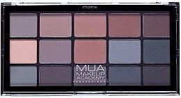 Парфюмерия и Козметика Палитра сенки за очи - MUA 15 Shade Palette