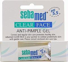 Парфюми, Парфюмерия, козметика Почистващ гел за лице против акне - Sebamed Clear Face anti-Pimple Gel Stick