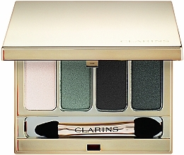 Парфюмерия и Козметика Палитра сенки за очи - Clarins 4-Colour Eyeshadow Palette