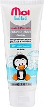 Парфюмерия и Козметика Крем против подсичане - Moi Bebe Heals & Protects Diaper Rash Cream
