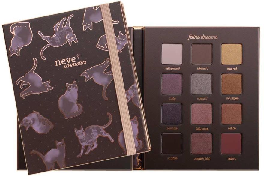 Палитра сенки за очи - Neve Cosmetics Feline Dreams Eyeshadow Palette