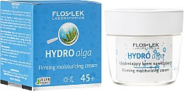 Парфюми, Парфюмерия, козметика Хидратиращ крем за лице - Floslek Hydro Alga 45+