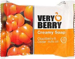 Парфюми, Парфюмерия, козметика Крем-сапун с дива къпина и масло от кедрови ядки - Very Berry Cloudberry & Cedar Nuts Oil