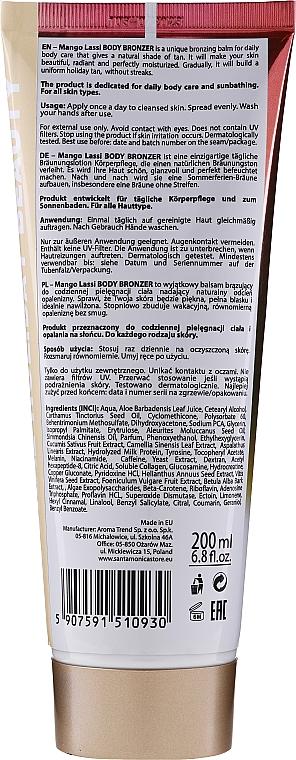 """Бронзиращ лосион за тяло """"Манго ласи"""" - Santa Monica Skincare Mango Lassi Body Bronzer — снимка N2"""